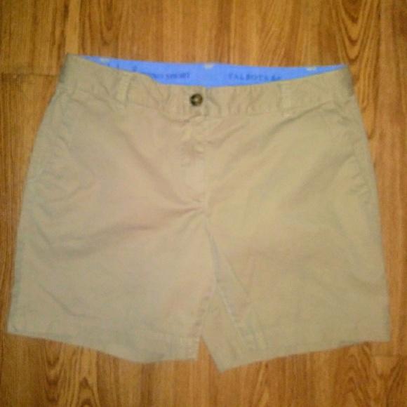 """Talbots Pants - Talbots """"weekend chino"""" shorts size 6 petite"""